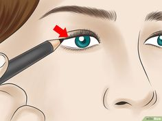 How to Tightline Eyes. Tightlining, also called invisible eyeliner, is a technique in which you line your upper waterline to subtly define and thicken the appearance of your eyelashes. Eyelashes, Eyeliner, Aurora Sleeping Beauty, Anime, Pictures, Lashes, Photos, Eye Liner