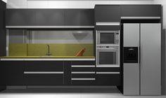 Cozinha #promob #interiordesign #CamilaLeite