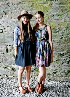 Johanna and Klara Soderberg (of First Aid Kit) Their style is perfection
