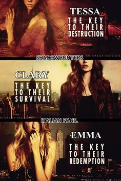 clary fray and emma carstairs - Google Search