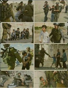"""Arrested of Many Palestinian Children by Zionist Army .""""Israeli Army"""" This is NOT the way a peaceful world works! Heiliges Land, Apartheid, The Real World, Jerusalem, Photos, Pictures, Allah, Religion, History"""