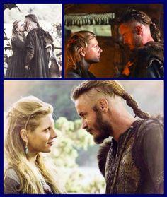 Ragnar & Lagertha. ❤❤❤❤❤