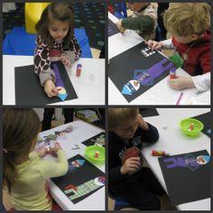 Preschool Picasso Lesson