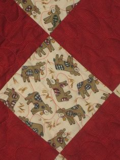 Baby Quilt Whimsical Cows Cotton & Flannel by DesignsbyJuliAnn, $55.00 - Great cozy blanket for the little cowboy or girl in your life
