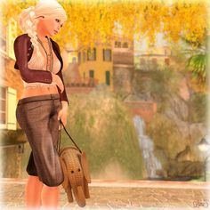 """Check out the Second Life Pic of the Day, """"Shopping Passport"""", photo by Luna Jubilee."""