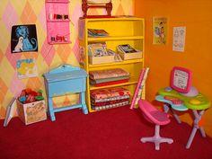 dollhouse craft room by sparklerama, via Flickr
