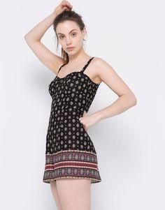 afdbbbae834 Resultado de imagen para vestidos holgados Printed Jumpsuit