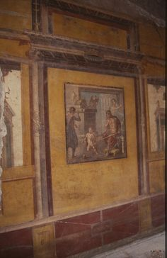 House of the Vettii, room n by Tintern, Pompeii. Pompeii is one of the places I've always wanted to see, but probably will never get there. I do love seeing all these pics though!