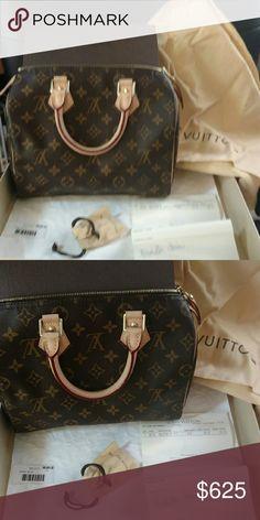 Louis Vuitton Speedy NM 25 Bags Shoulder Bags