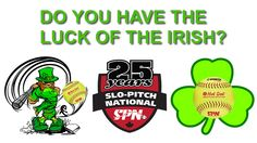 Stay Tuned and Win!!  Do you Have The Luck of The Irish? #slopitchnational