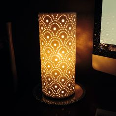 New ceramic lamp I am in love with.