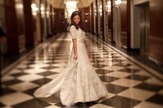 In total love with this conservative or modern orthodox wedding dress