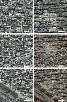 En Syrie, Alep en guerre photographiée par satellite - Libération