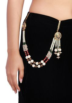 how to wear a Traditional Sari Belt
