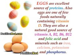 ~ EGGS Have Multiple Nutritional Benefits ♥