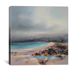 Icanvas 'Harris Study Iii' Giclee Print Canvas Art ($71) ❤ liked on Polyvore featuring home, home decor, wall art, art, backgrounds, beach, grey, giclee wall art, beach paintings and beach home decor