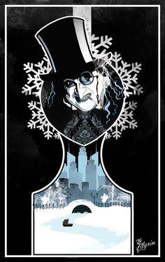Batman Vilains - Oswald Chesterfield Cobblepot (The Penguin) by French artist: Yannis - The Pilgrim