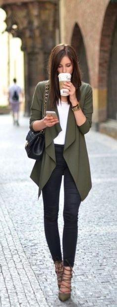 Stunning fall outfits with cardigan (39)