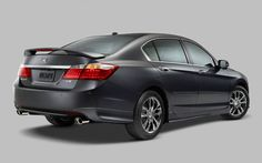 Available accessory packages give the Accord Sedan a more aggressive look. (EX-L V-6 model shown) | www.crownhonda.ca