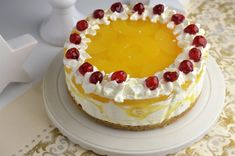 tort cu ananas Romanian Food, Romanian Recipes, Biscuit, Cheesecake, Food And Drink, Sweets, Ethnic Recipes, Desserts, Cupcake