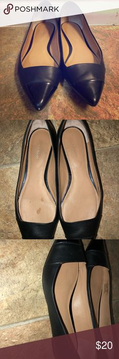 Calvin Klein flats Used condition. Scuffs. Calvin Klein Shoes Flats & Loafers