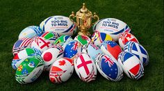 Rugby World Cup 2015 - Home Nations fans! Check our RBS Six Nations 2016 packages @ http://www.activitybreaks.com/six-nations-packages-and-tours/