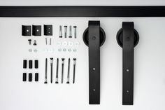 Sliding barn door hardware by ArchitecturalOpening on Etsy, $185.00
