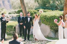 Photography: Laura Goldenberger - www.lauragoldenberger.com  Read More: http://www.stylemepretty.com/california-weddings/2014/05/20/elegant-palm-springs-wedding/