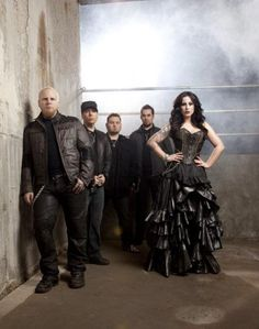 We Are The Fallen We Are The Fallen, Symphonic Metal, Gothic Metal, Rocker Style, Diva, Female, Singers, Queens, Bands