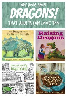 Kids' Books About Dragons That Adults Can Love Too - Planet Jinxatron