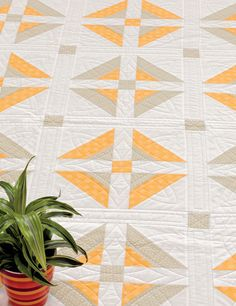 Calm before the Storm quilt from Strip-Smart Quilts II by Kathy Brown