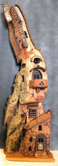 Spring Fairy House by ForestDwellerHouses on DeviantArt
