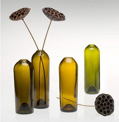 Great wine bottle ideas on this site!