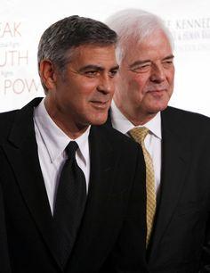 George Clooney et son papa - DIAPO Les stars et leur papa - Voici