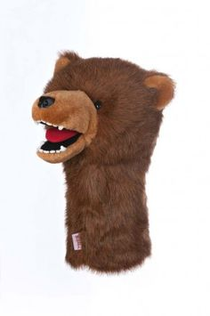 Daphnes Grizzly Bear Golf Club Headcover