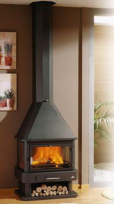 Chiminea, Firewood Storage, Wood Burner, Modern Fireplace, Stove, Tiny House, Pergola, Sweet Home, Home Appliances