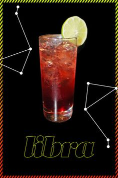 LIBRA- You take pride in your fair and stable personality. You've read your horoscope countless times, but we bet you don't know what the stars say about your cocktails. Click through to find out what drink best suits you. Cheers!