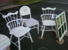 Shabby Chic Chairs (All Sold)