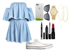 """""""Untitled #225"""" by elsakaram ❤ liked on Polyvore featuring Converse, Casetify, Fendi, Michael Kors, Lana, Yves Saint Laurent, Marc Jacobs and Smashbox"""