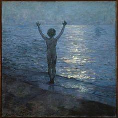 Art Et Nature, Beach Night, Grand Palais, Dream Art, Oeuvre D'art, All Art, Impressionist, Les Oeuvres, Moose Art