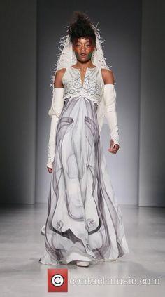 Mercedes-Benz Fashion Week New York Fall/Winter 2015 - Hendrik Vermeulen - Runway Mercedes Benz, Manhattan New York, Catwalk, Fall Winter, Runway, Jewelry Design, Street Style, Jewellery, Model
