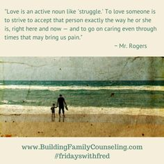 Love is active - Building Family Counseling Family Psychology, To Strive, Loving Someone, Beautiful Words, Counseling, Philosophy, Mental Health, Brain, Thoughts