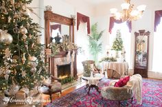 HermannFurniture Christmas at the Mansion 2015 5627