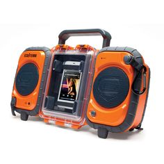 Eco Terra Waterproof Boombox..perfect for float trips or on the lake