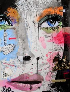 View LOUI JOVER's Artwork on Saatchi Art. Find art for sale at great prices from artists including Paintings, Photography, Sculpture, and Prints by Top Emerging Artists like LOUI JOVER. Art And Illustration, Illustrations, Collage Kunst, Collage Art, Collage Drawing, Pop Art, Street Art, Art Watercolor, Art Anime