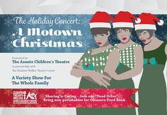 A Motown Christmas Presented By The Asante Children's Theatre School Community, Community Events, Children's Theatre, Indianapolis Indiana, Motown, Christmas Presents, The Beatles, Indie, Songs