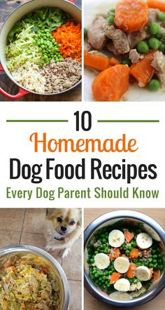 10 awesome homemade dog food recipes you have to check out if you're looking for healthy options for your pup. 10 awesome homemade dog food recipes you have to check out if you're looking for healthy options for your pup. Food Dog, Make Dog Food, Best Food For Dogs, Home Cooked Dog Food, Vegan Dog Food, Good Dog Food, Ground Chicken Dog Food Recipe, Raw Food For Puppies, Diabetic Dog Food