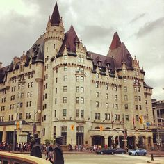 The Fairmont Château Laurier (located at the intersection of Sussex Drive & Rideau Street)  overlooks both the Ottawa River & the Rideau Canal locks, is a 429 room and 660,000 square foot hotel that was declared a National Historic Site in 1981. Some believe that original owner Charles Melville Hays, who died on the Titanic before the grand opening of the hotel is one of the ghosts who roams about the place.