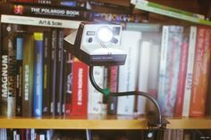 Polaroid One Step lamp by Manuel Lino