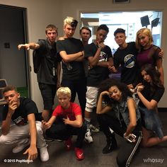 @popnationtour and @PulseRadioAZ takeover day2 with @carsonlueders @SweetSuspense @The_Bomb_Digz #popnationtour